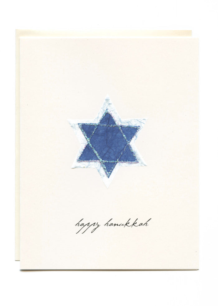 """Happy Hanukkah"" Star of David"
