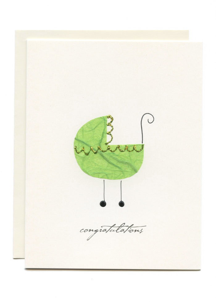 """Congratulations""  Green Buggy"