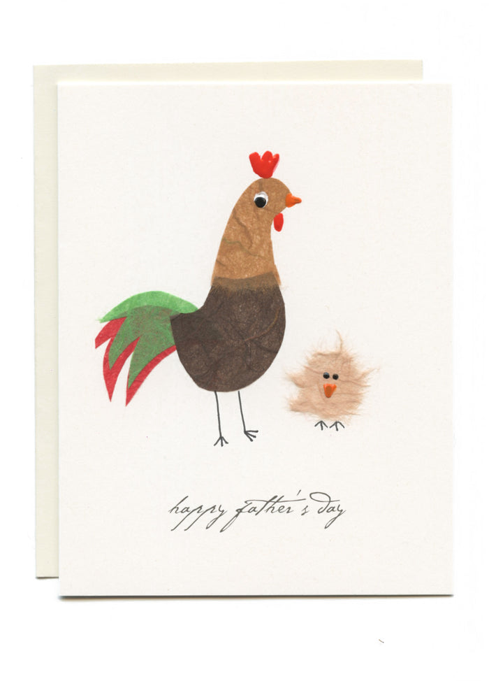 """Happy Father's Day""  Rooster"