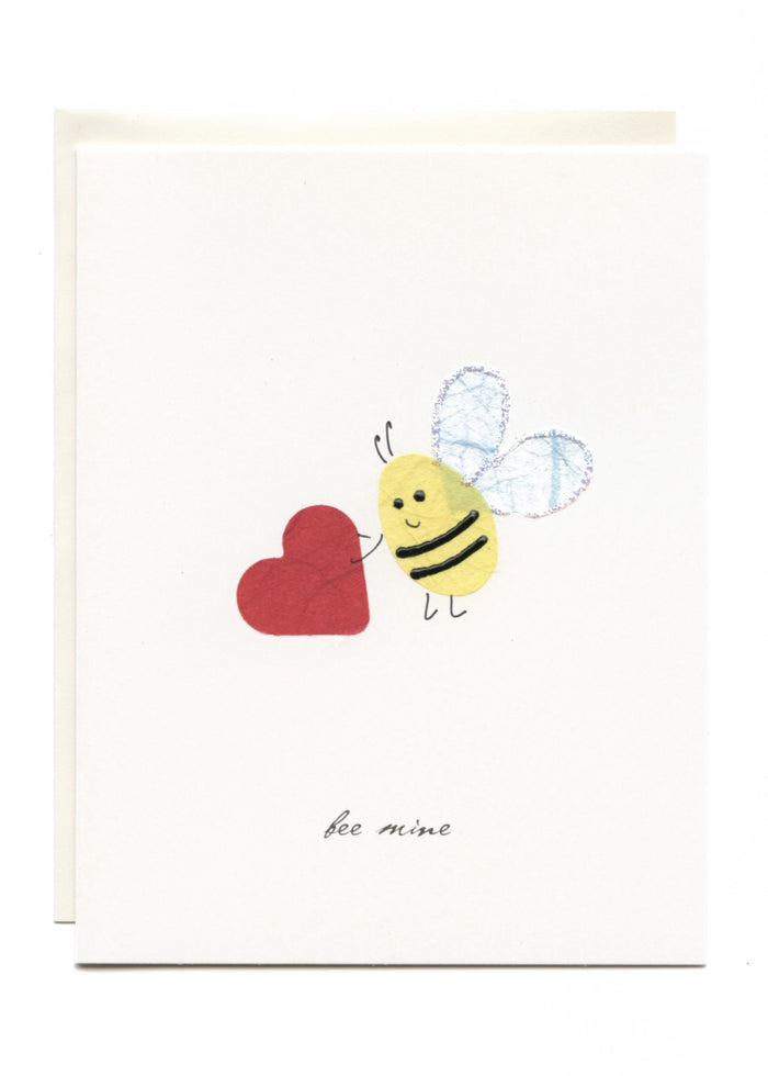 """Bee Mine""  Bee with Heart"
