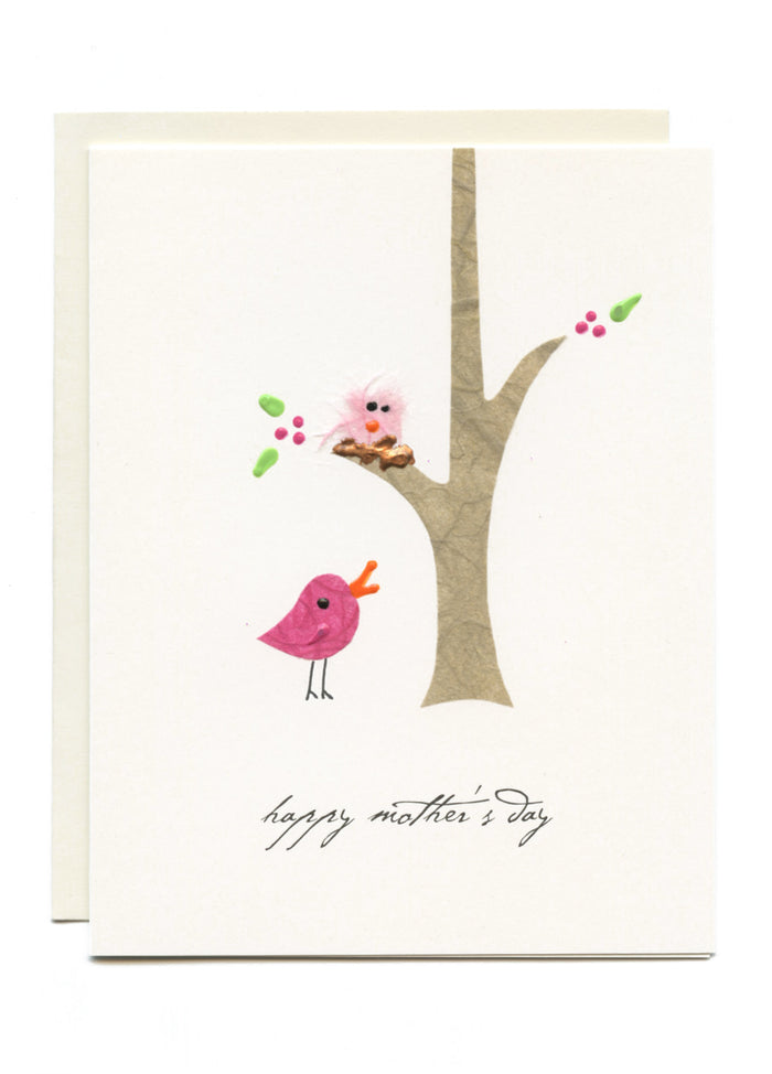 """Happy Mother's Day"" Bird in Tree"
