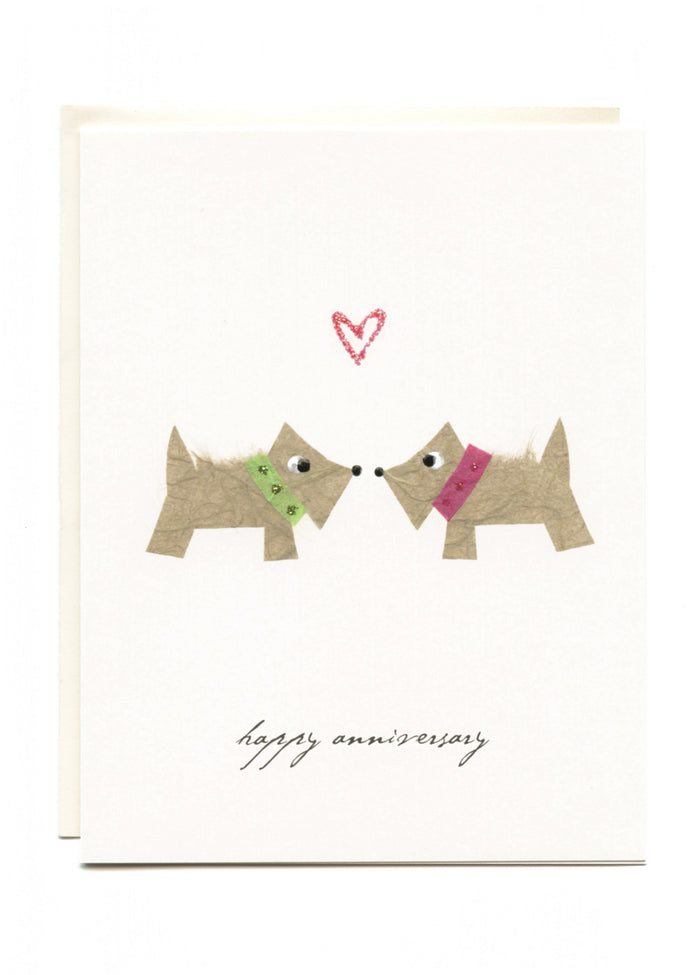 """Happy Anniversary""  2 Terriers"