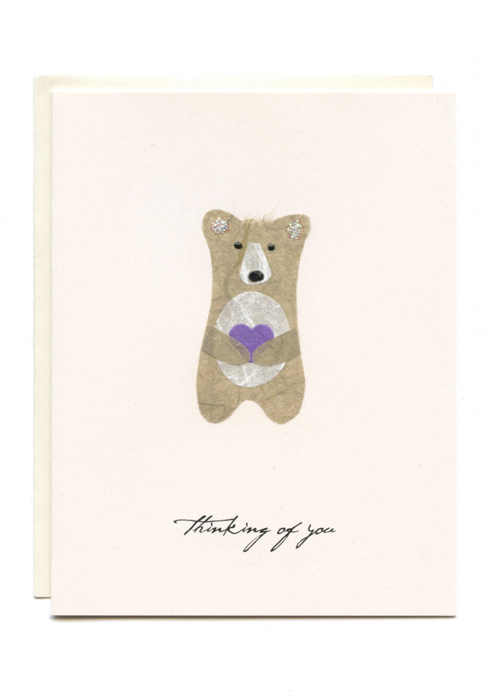 """Thinking of You""  Grey Bear"