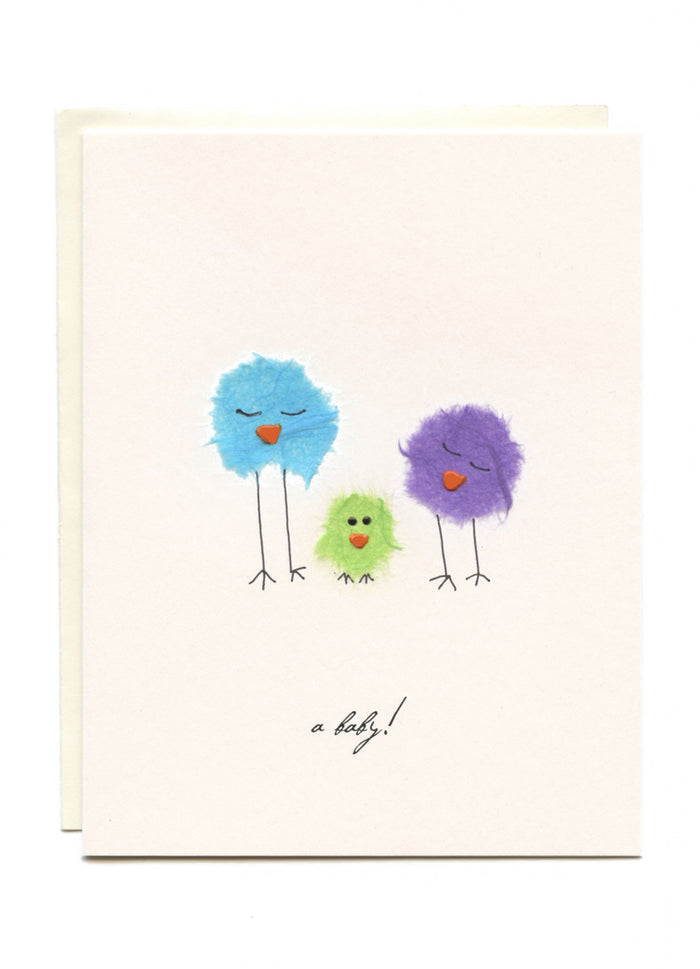 """A Baby""  Three Birds"