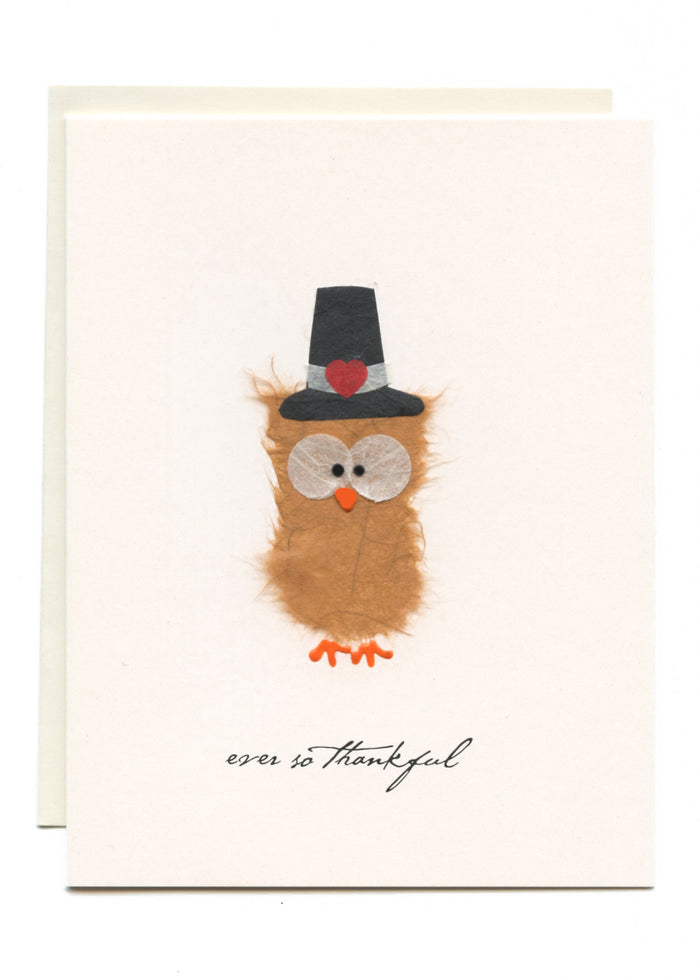 """Ever So Grateful""  Pilgrim Owl"