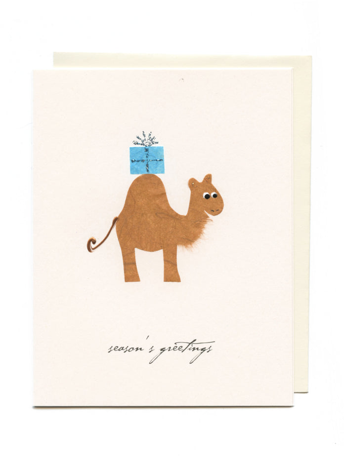 """Season's Greetings""  Camel"