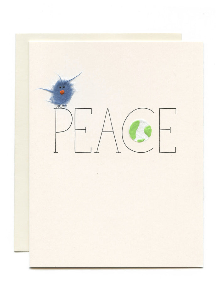 """Peace"" Bird and Earth"