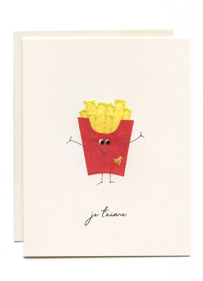 """Je T'aime"" French Fries"