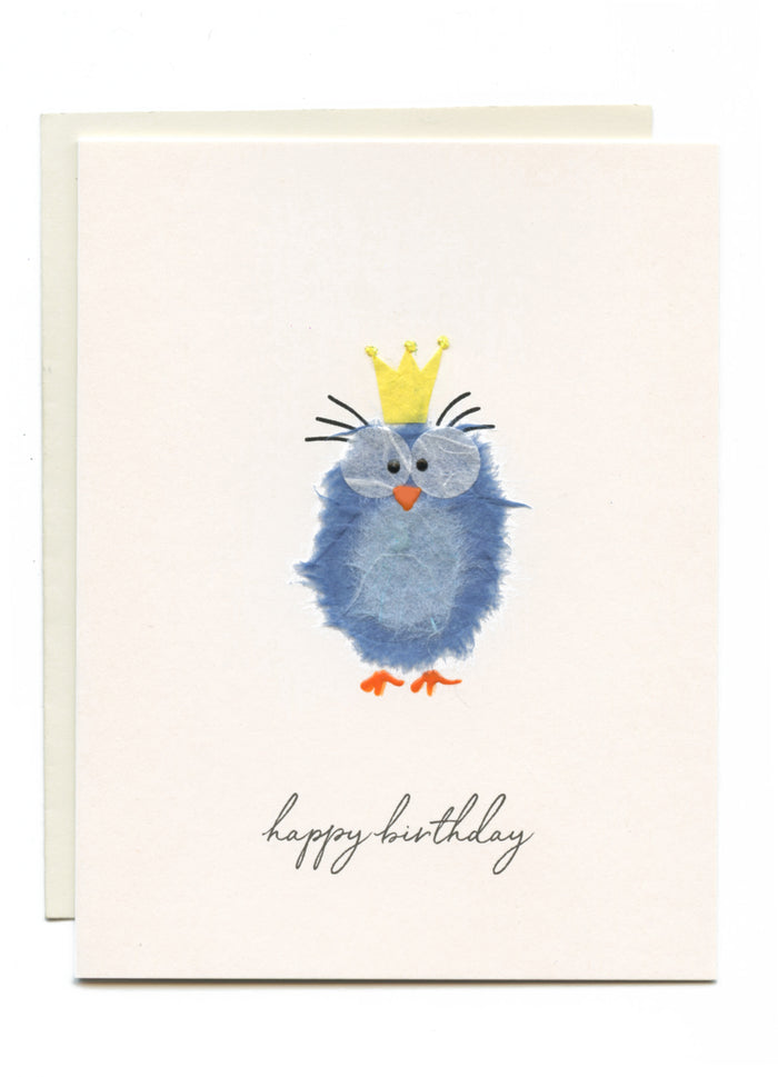 """Happy Birthday"" Pretty Blue Bird"