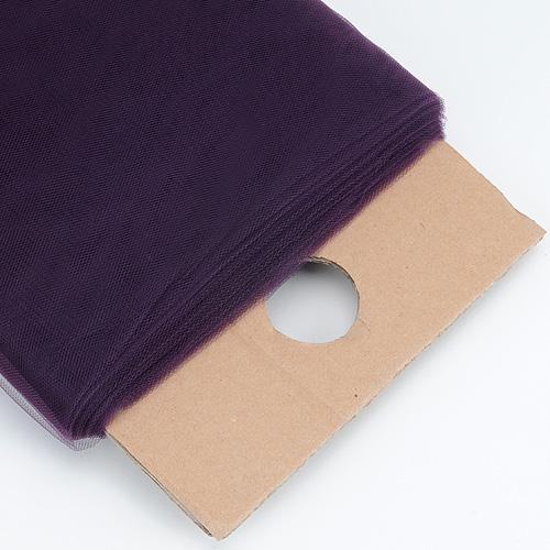 Plum 54 Inch Premium Tulle Fabric Bolt ( W: 54 inch | L: 40 Yards )