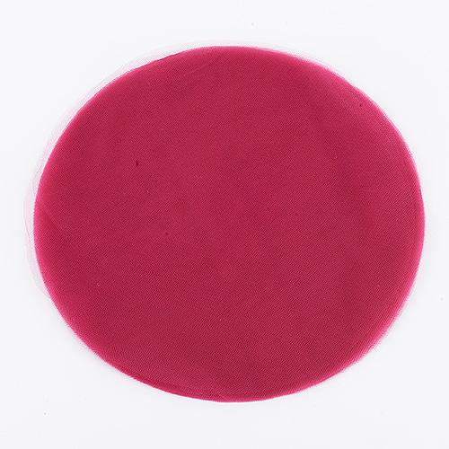 Wine - Premium Tulle Circle - ( 12 inch | 25 Pieces )