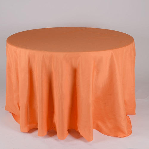 Orange- 120 Inch Round Tablecloths - ( 120 Inch | Round )