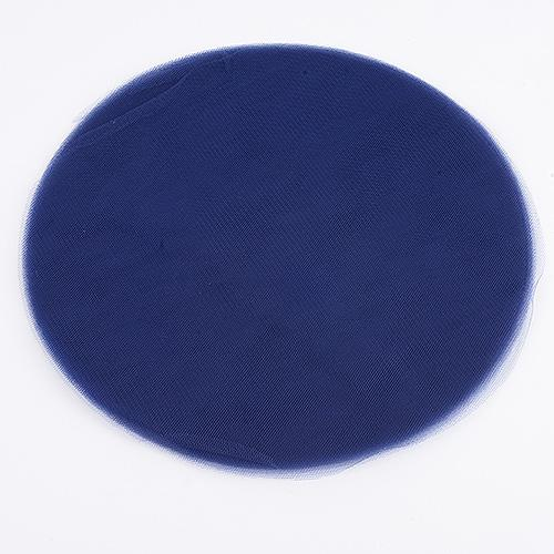 Navy - Premium Tulle Circle - ( 9 inch | 25 Pieces )
