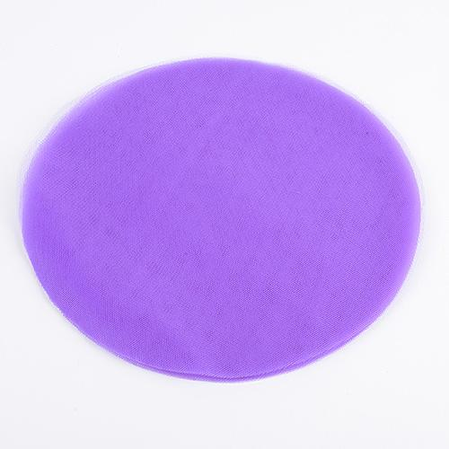 Purple - Premium Tulle Circle - ( 9 inch | 25 Pieces )