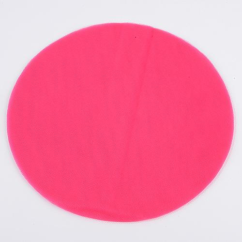 Fuchsia - Premium Tulle Circle - ( 9 inch | 25 Pieces )