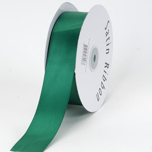 Hunter Green Satin Ribbon 1/16 x 300 Yards - ( W: 1/16 inch | L: 300 Yards )