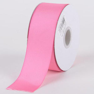 Hot Pink - Satin Ribbon Double Face - ( W: 3/8 Inch | L: 25 Yards )