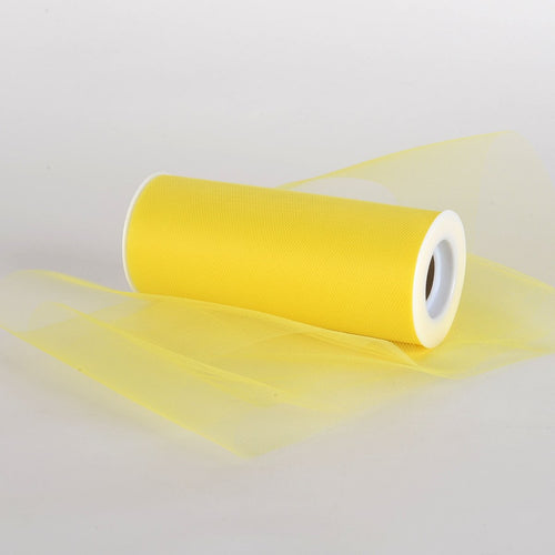 Yellow Premium Tulle Fabric ( 6 Inch | 25 Yards )