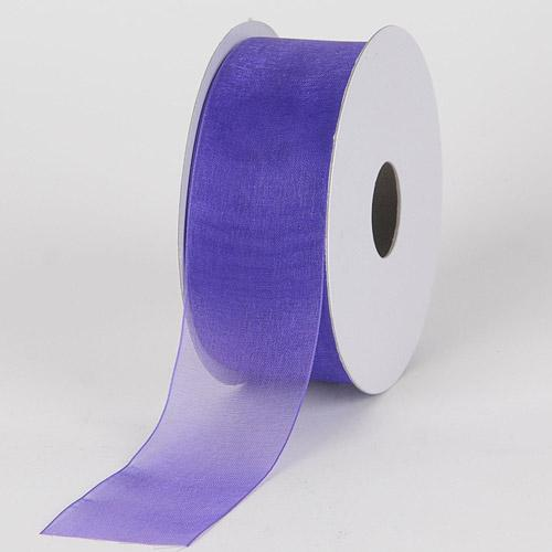 Purple Haze - Sheer Organza Ribbon - ( 7/8 inch | 25 Yards )