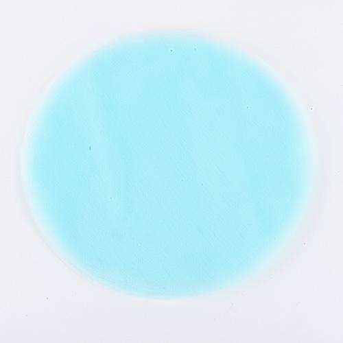 Light Blue - Premium Tulle Circle - ( 9 inch | 25 Pieces )