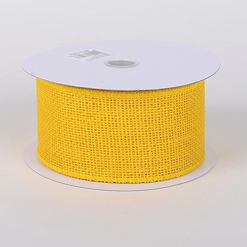 Daffodil - Burlap Ribbon - ( W: 1-1/2 inch | L: 10 Yards )