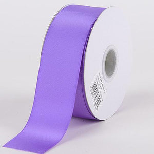 Purple - Satin Ribbon Double Face - ( W: 3/8 Inch | L: 25 Yards )