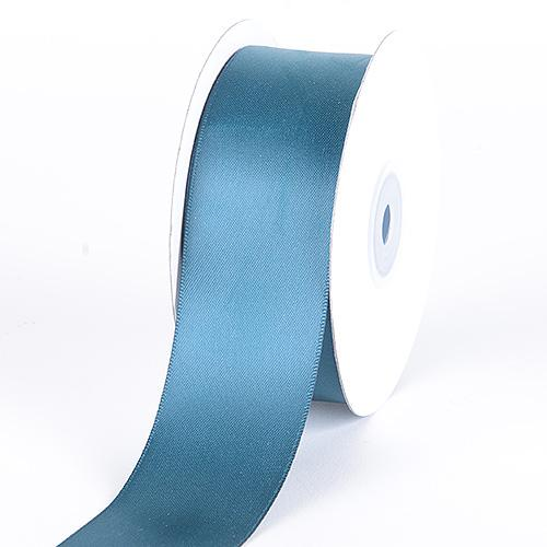 Teal - Satin Ribbon Double Face - ( W: 5/8 inch | L: 25 Yards )