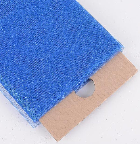 Royal Blue Premium Glitter Tulle Fabric ( 54 inch | 10 Yards )
