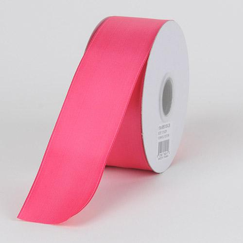 Fuchsia - Satin Ribbon Wire Edge - ( W: 1-1/2 inch | L: 25 Yards )
