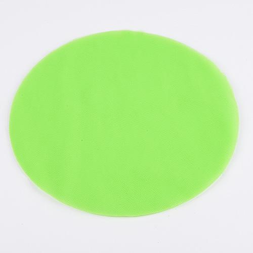 Apple - Premium Tulle Circle - ( 9 inch | 25 Pieces )