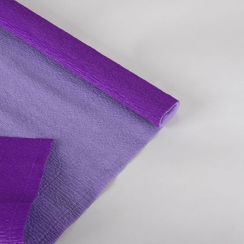 Double Sided Crepe Paper - Purple w. Lavender - 20 Inch