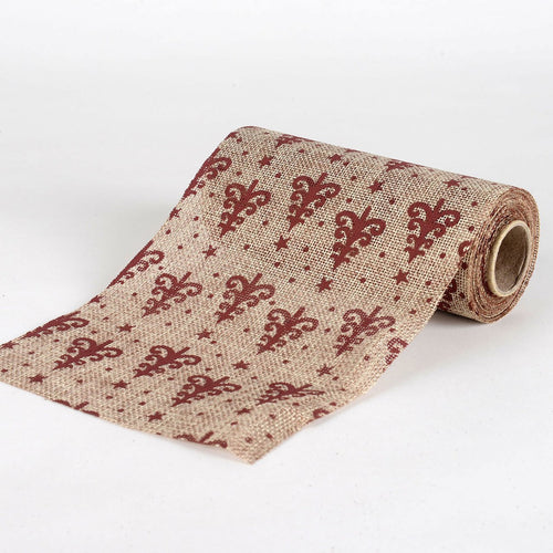 Natural -  Faux Burlap Roll ( W: 6 inch | L: 5 Yards ) - 960397GO