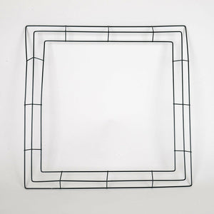 20 Inch Square Wreath Wire Frames - Bundle of 10pcs