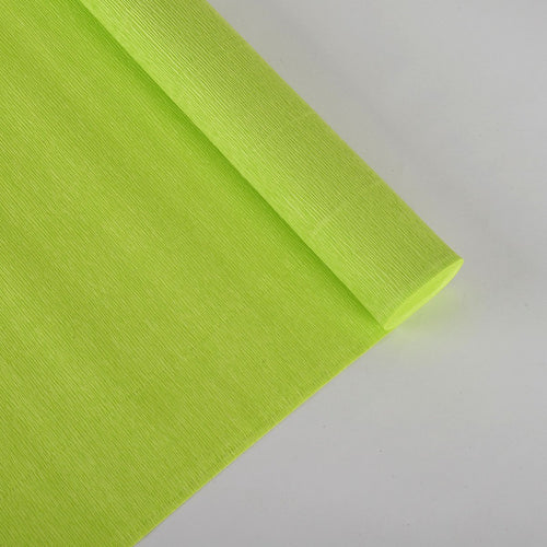 Crepe Paper Wrap - Lime Green