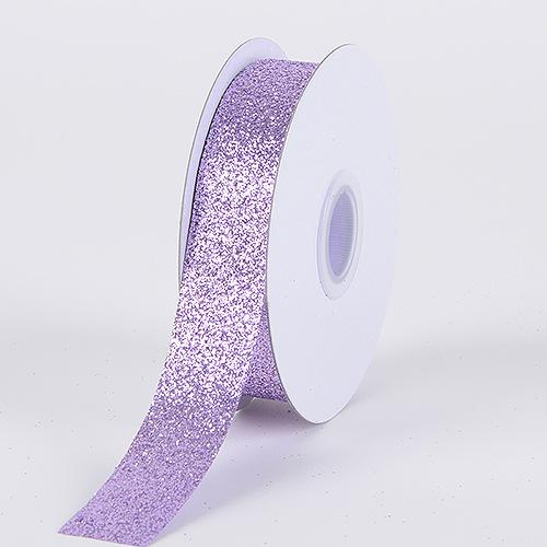 Lavender - Metallic Glitter Ribbon - ( 5/8 Inch 25 Yards )