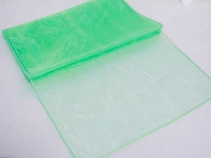 Mint - Organza Table Runners - ( 14 inch x 108 inches )