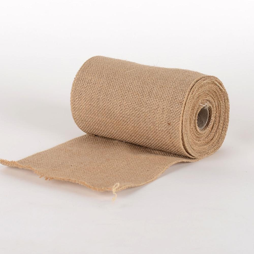 Natural Burlap Net Roll - ( W: 6 inch | L: 5 Yards ) -  960058GO