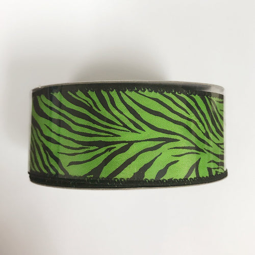 Zebra Print Ribbon  ( 1-1/2 Inch x 10 Yards ) - Q1940909