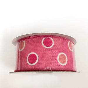 Spring Ribbon Pink ( 1-1/2 Inch x 10 Yards ) - Q41410903