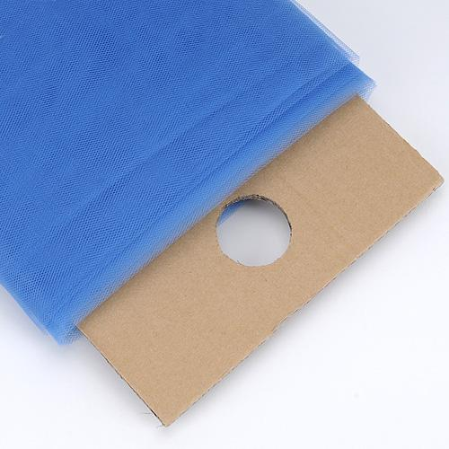 Smoke Blue - 54 Inch Premium Tulle Fabric Bolt ( W: 54 inch | L: 40 Yards )