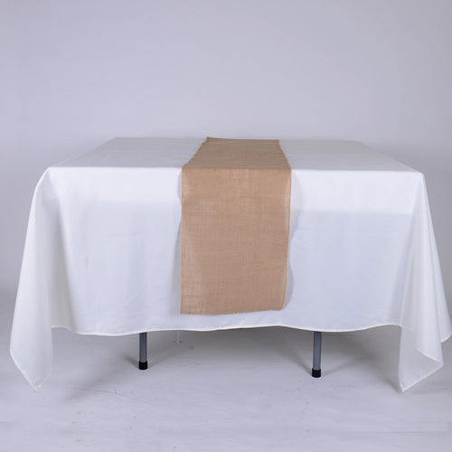 Natural - Burlap Table Runner ( 14 inch x 108 inches )