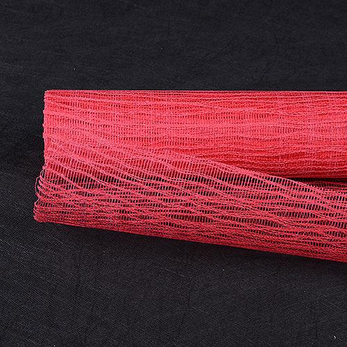Red  - Twine Mesh Wrap -  ( 21 Inch x 6 Yards )