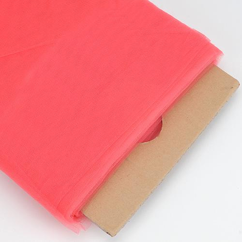 Coral 54 Inch Premium Tulle Fabric Bolt ( W: 54 inch | L: 40 Yards )