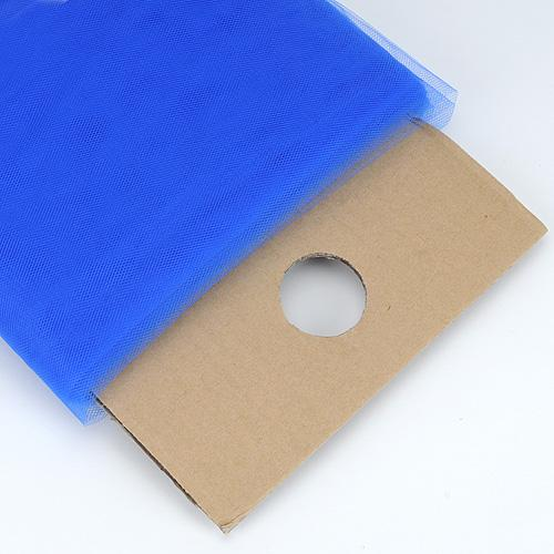 Royal Blue 54 Inch Premium Tulle Fabric Bolt ( W: 54 inch | L: 40 Yards )