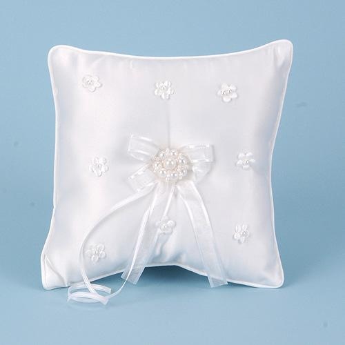 Ring Bearer Pillow White ( 7 Inch )