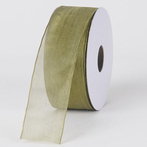Willow - Organza Ribbon Thin Wire Edge 25 Yards - ( W: 5/8 inch | L: 25 Yards )