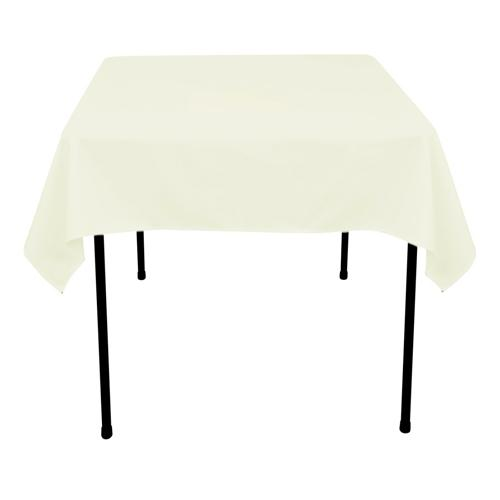 Ivory - 70 x 70 Square Tablecloths - ( 70 inch x 70 inch )