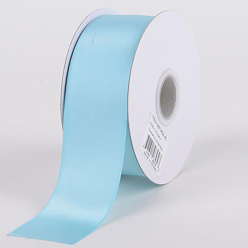Aqua - Satin Ribbon Double Face - ( W: 5/8 inch | L: 25 Yards )