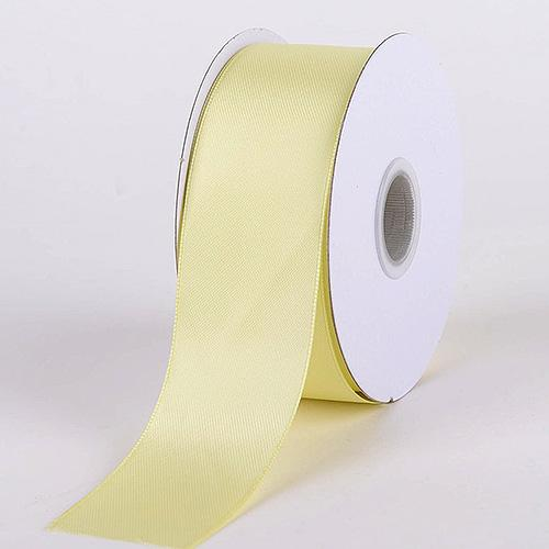 Baby Maize - Satin Ribbon Double Face - ( W: 1-1/2 inch | L: 25 Yards )