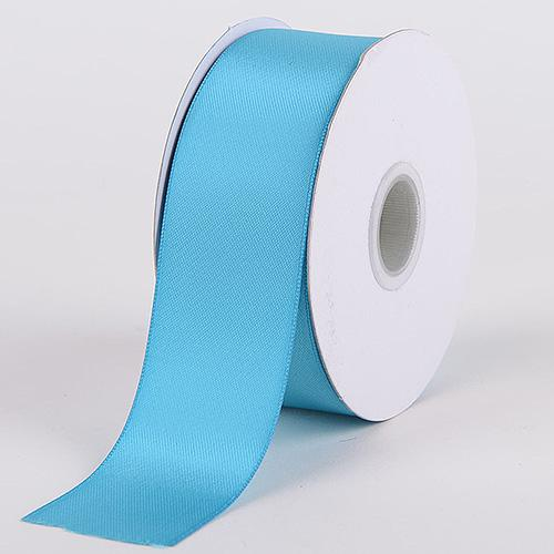 Turquoise - Satin Ribbon Double Face - ( W: 5/8 inch | L: 25 Yards )